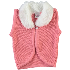 Civil Baby 6-24 Months Baby Girl Vest Salmon