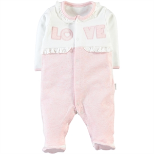 Baby Center Girl Pink Overalls Boy 0-6 Months