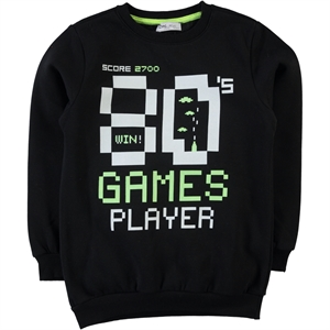 Cvl Sweatshirt Black Age 6-9 Boy