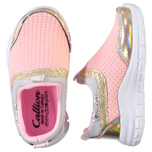 Callion Baby Girl Sneakers Salmon Numbers 22-25