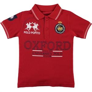 Popito Boy T-Shirt Age 6-9 Red
