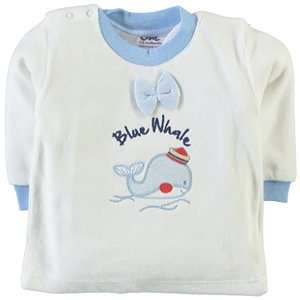 Civil 3-9 Months Baby Boy Blue Sweatshirt