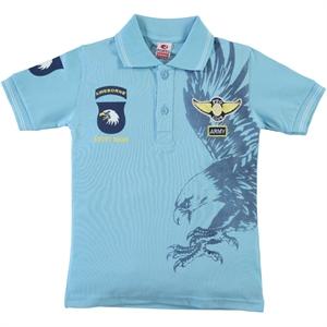 Popito Erkek Çocuk Tişört 6-9 Yaş Mavi