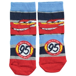 Cars Age 3-9 Blue Ankle Socks Boy