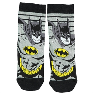 Batman Grey Ankle Socks Boy Age 5-9