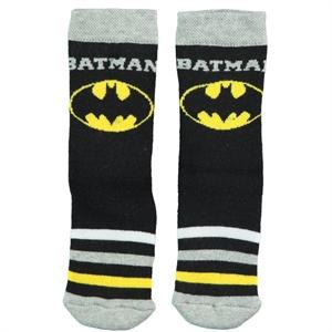 Batman Boy Ankle Socks Black 5-9 Age