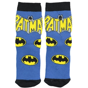 Batman Boy's Ankle Socks Blue 5-9 Age