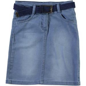 Civil Girls Girl Blue Denim Skirt Age 6-9