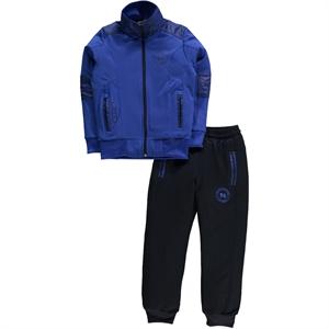 Civil Sport Team Tracksuit Age 6-9 Boy Blue Saks