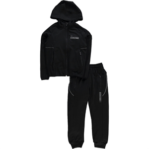 Civil Sport Team Black Tracksuit Age 6-9 Boy