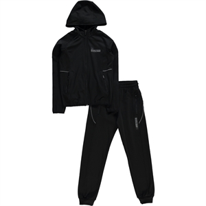 Civil Sport Team Black Tracksuit Boy Age 10-13