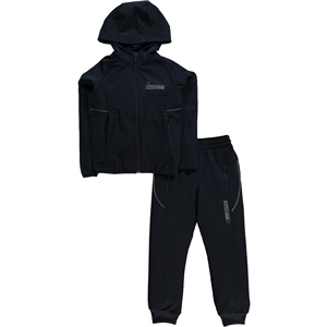 Civil Sport Team Tracksuit Navy Blue Boy Age 10-13