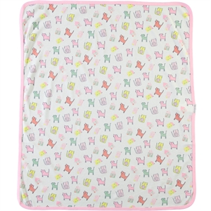 Civil Baby girl Blanket 80 x 80 cm Pink (2)