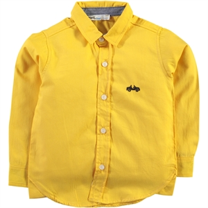 Civil Boys Mustard Shirt Boy Age 6-9