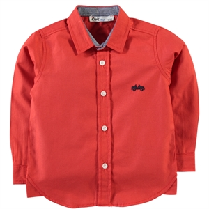 Civil Boys Red Shirt Boy Age 6-9