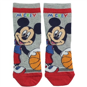 Mickey Mouse Red Socks Boy Age 5-9