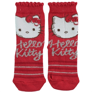 Hello Kitty Red Socks Girl Age 3-9