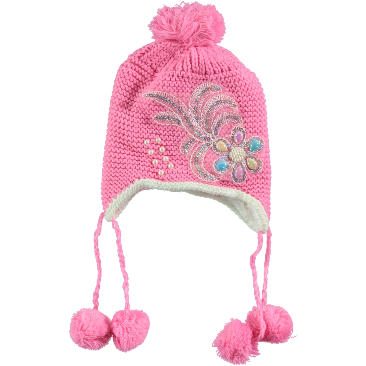 Prahar Age 5-9 Boy Girl Fuchsia Hat