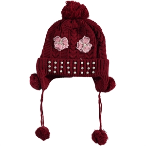 Prahar The Ages Of 5-9 Boy Girl Hat Burgundy