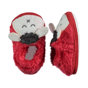 Funny Baby Baby Girl Booties Red Number 169