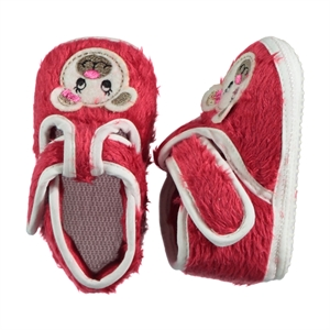 Funny Baby Baby Girl Booties Red Number 16-19 (1)