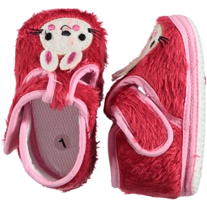 Funny Baby Baby Girl Booties Red Number 16-19