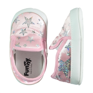 Funny Baby Baby Girl Booties Pink Number 169