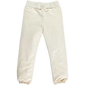 Cvl Age 6-9 Boy Girl Beige Tracksuit Bottom