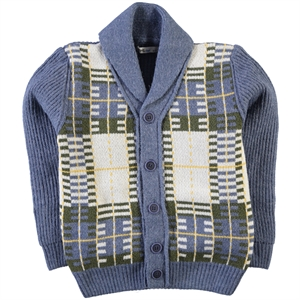 Civil Boys Indigo Cardigan Age 6-9 Boy