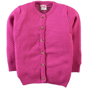 Civil Girls Fuchsia Cardigan Girl Age 10-13