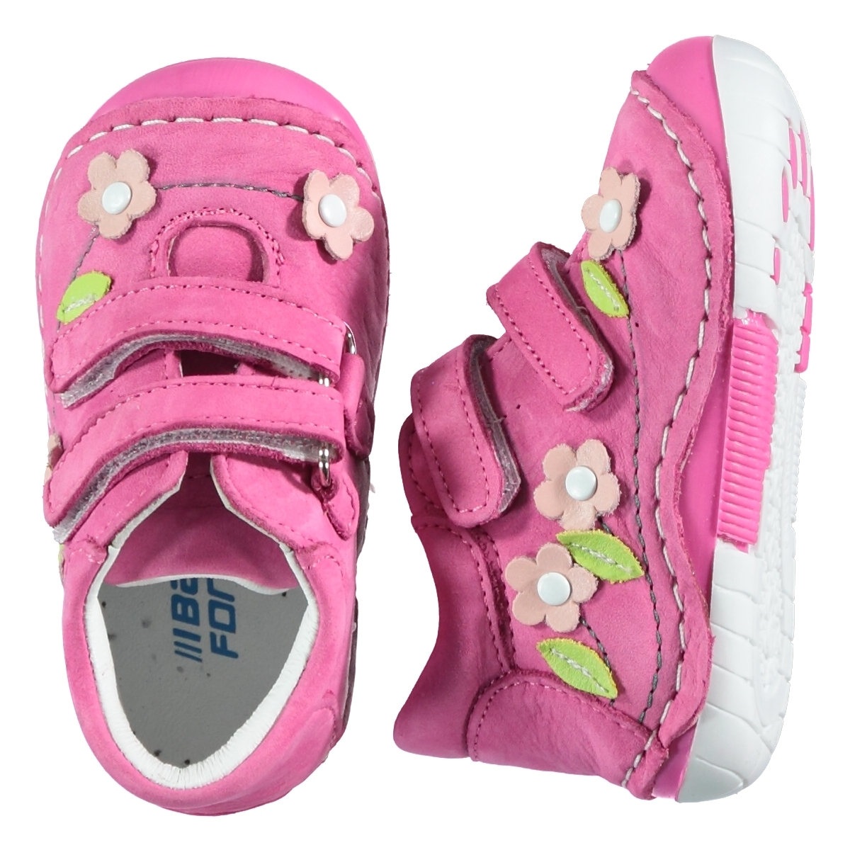 Baby Force Baby Girl First Step Shoes Fuchsia Number 19-22