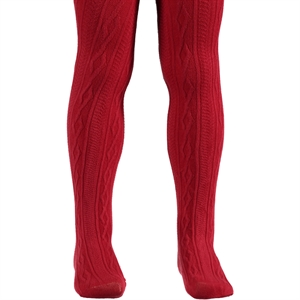 Bella Calze Girl In Red Pantyhose Age 2-13