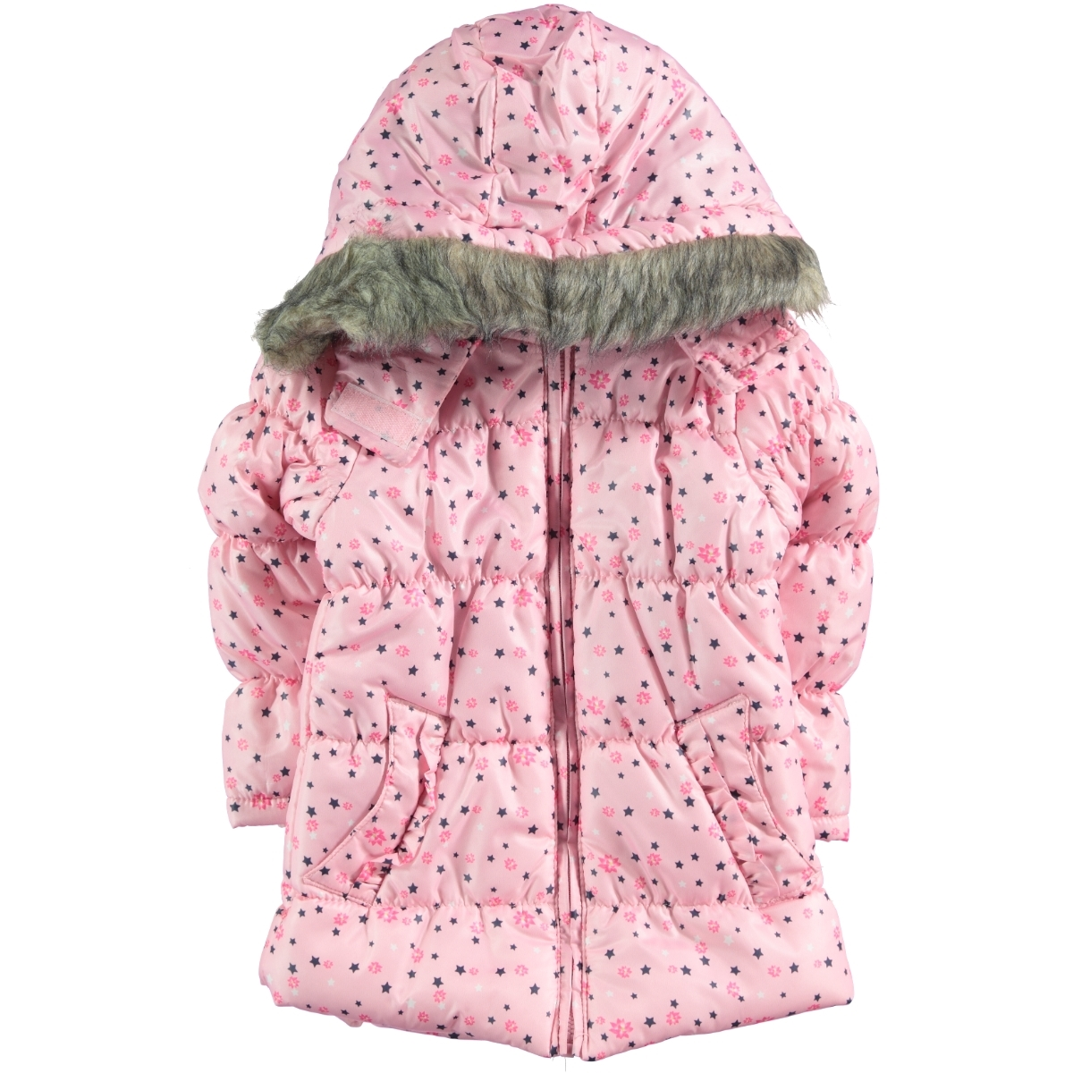 Civil Girls Micro Boy Girl Jacket Pink 2-5 Years