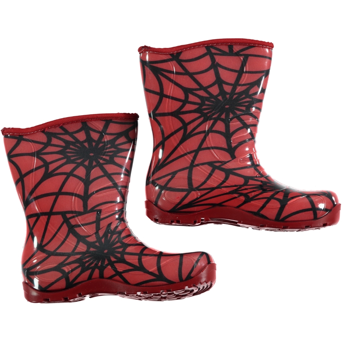 Civil The Network Patterned Boots Kid 30-35 # Red
