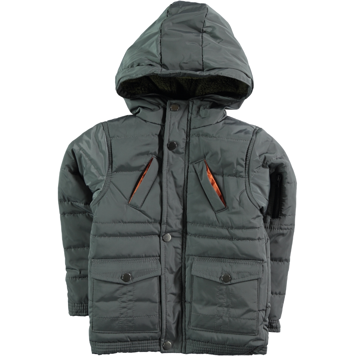 Civil Boys Mont Anthracite 2-5 Years Boy Micro