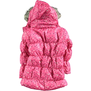 Civil Girls Boy 2-5 Years Girl Fuchsia Jacket Micro (2)