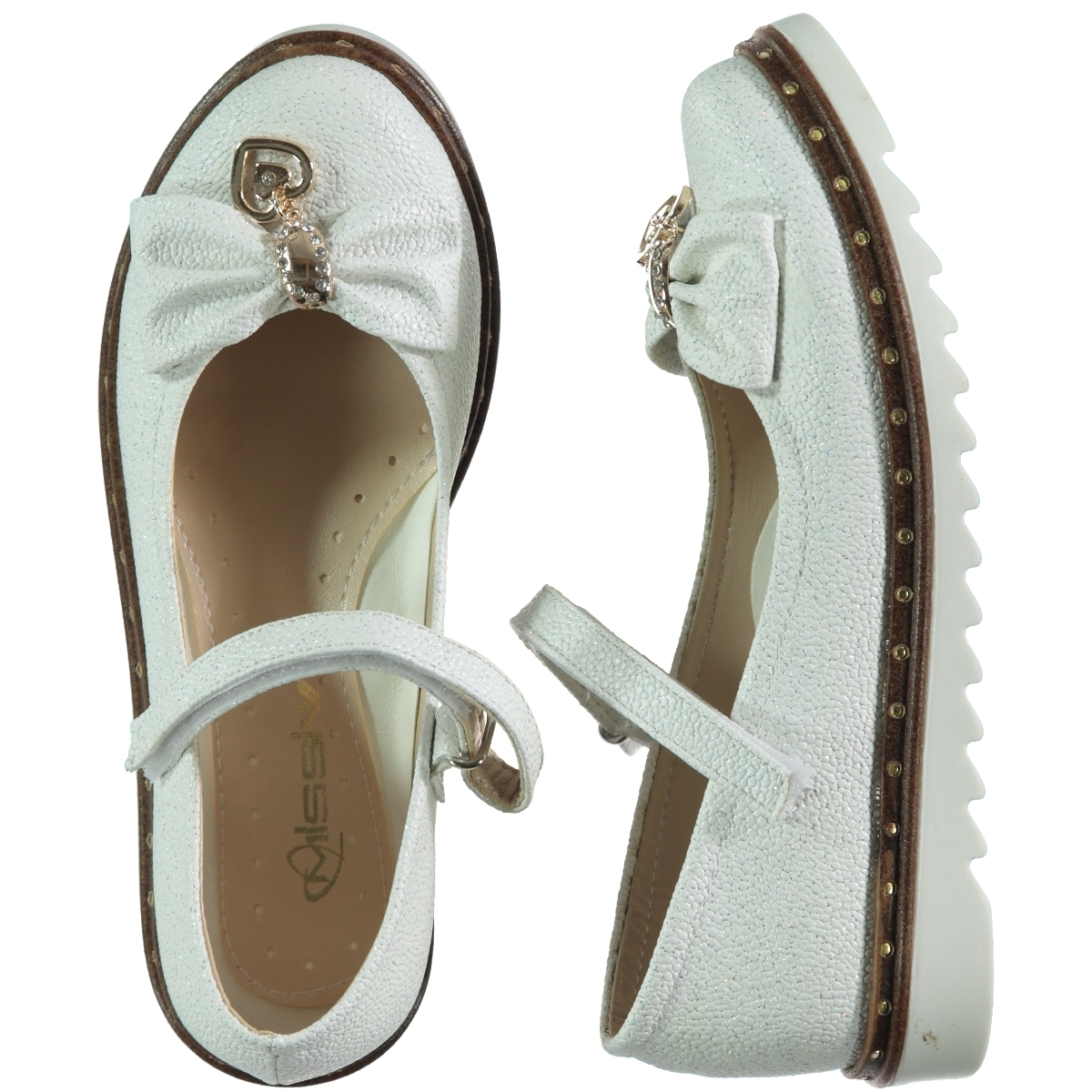 Missiva 31-36 Number Of Girls White Ballet Flats