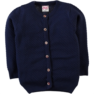 Civil Girls Navy Blue Cardigan Girl Age 10-13