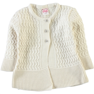 Civil Girls The Color Of The Stone Girl Cardigan Age 2-5