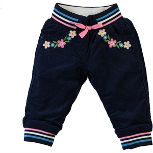 Civil Baby 6-24 Months Baby Girl Navy Blue Pants