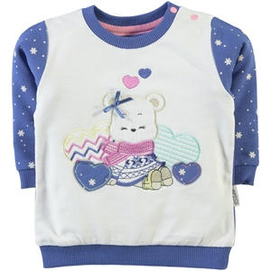 Kujju 6-18 Months Baby Girl Purple Sweatshirt