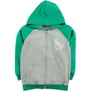 Cvl Yesil Hooded Cardigan Boy Age 10-13