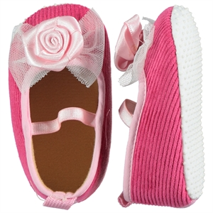 First Step Baby Girl Pink Booties 17-19 Number