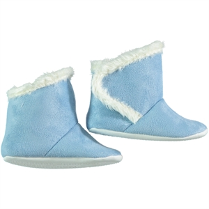 First Step Blue Booties Baby Girl Number 17-19