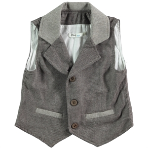 Civil Boys Brown Vest For Boy Age 6-9
