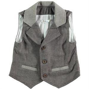 Civil Boys Brown Vest For Boy Age 6-9 (1)