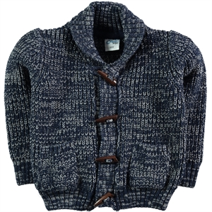 Civil Boys Boy Cardigan Navy Blue Age 2-5 (1)