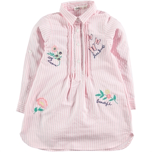 Civil Girls Kız Çocuk Gömlek 6-9 Yaş Pudra Pembe