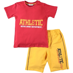 Haliş Tongue In Cheek, Boy Shorts Suit 6-9 Years Of Age