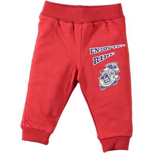 Civil Baby Patiksiz Single Child Baby Boy 6-18 Months Red